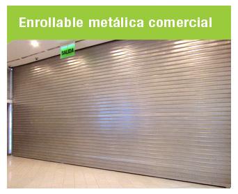 Ideada para brindar seguridad a locales comerciales y almacenes, la puerta Enrollable Metálica Comercial Cassadó es la solución más versátil para brindar seguridad a ambientes, ocupando poco espacio lateral y superior.