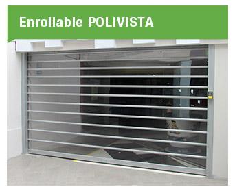 La puerta enrollable Polivista Cassadó transparente, durable y segura, brindando calidez a los locales comerciales que buscan exhibirse aun cuando se encuentran cerrados.