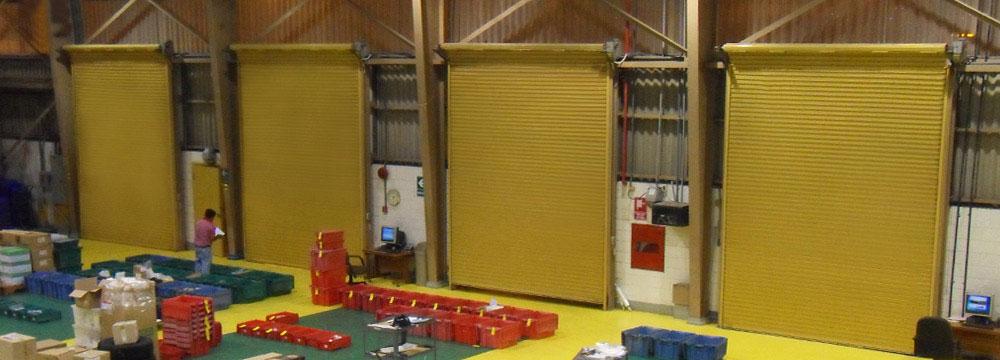La puerta Enrollable metálica industrial fue diseñada para trabajar de manera confiable en los ambientes industriales más exigentes. Nº 1 EN EL MERCADO