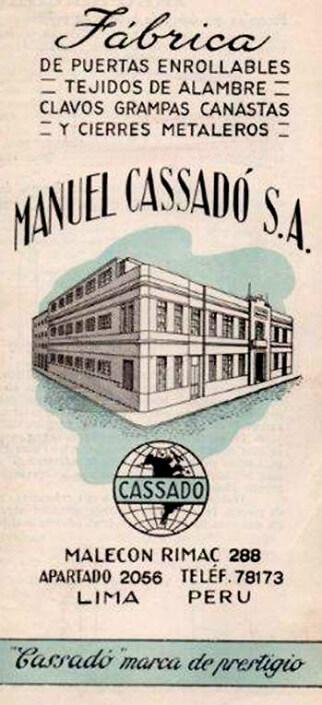 CASSADÓ, UNA HISTORIA LLENA DE CALIDAD Y SERVICIO