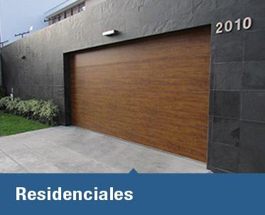 Cassadó te ofrece su línea Residencial, una amplia gama de puertas seccionales, donde el buen diseño se mezcla con la seguridad que requieres.