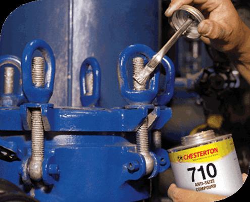 710 Antiadherente de Cobre Chesterton. Premium con partículas de cobre para aplicaciones donde se requiera mantener conductiva dos superficies metálicas.