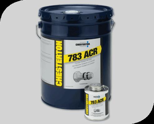 783 Antiadherentes Resistente a la Corrosión Chesterton. Libre de partículas metálicas con los más amplios indicadores en resistencia a la corrosión y extrema presión.