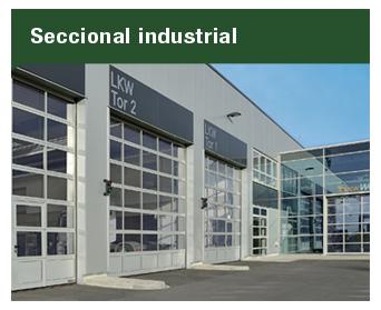 Las puertas Seccionales Industriales son el complemento ideal para las operaciones más demandantes dentro de plantas industriales.